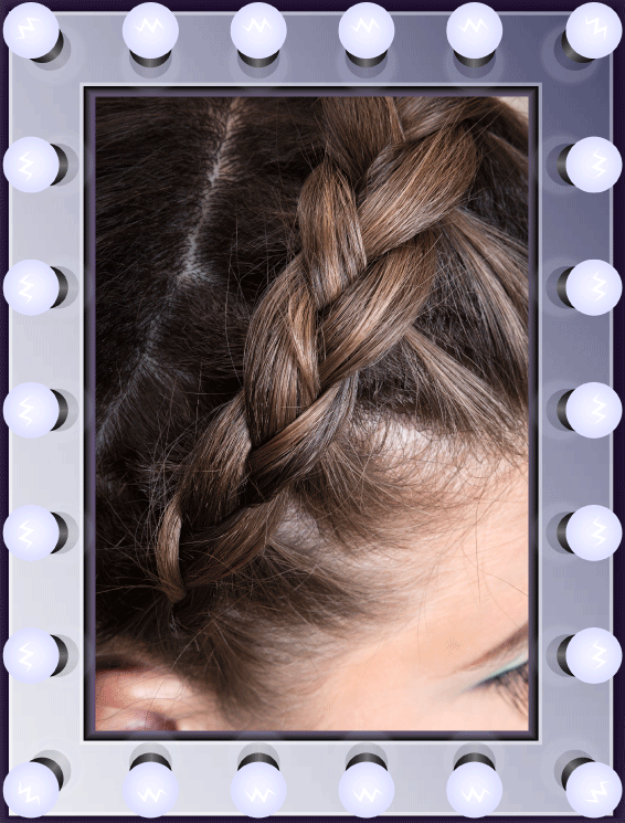Flawless Makeover Photoshoot - Hair Styling Example
