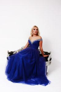 Courtney Blue Prom Single