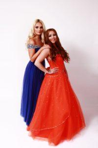 Photoshoot Blue and Orange courtney